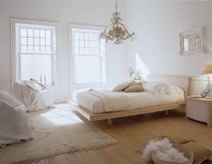 Tässä makuuhuoneessa on harmoninen tunnelma (Kuva: Mazzali CC BY-SA 2.0)