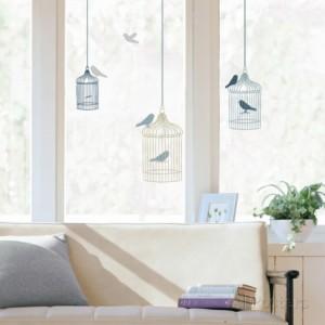 Lintuhäkit-ikkunatarra, Allposters