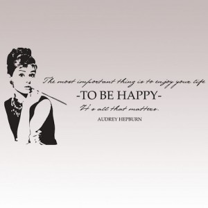 Audrey Hepburn-sitaatti, Designtarrat.fi