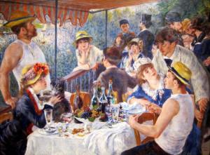Taidefriikeille Renoir-julisteita (Kuva: NCinDC CC BY-ND 2.0)